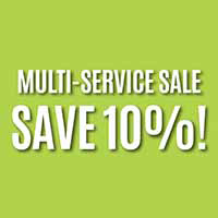 Save 10% on multi-service during our Spring Sale. Includes flooring and cabinet, countertop, painting, and blinds purchases